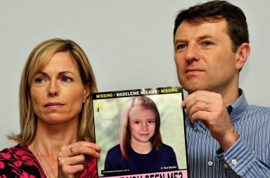 File photo dated 02/05/12 of Madeleine McCann's parents Gerry and Kate McCann, Kate and Gerry McCann are back in Portugal today for the latest hearing in their ongoing libel trial against a former police chief.