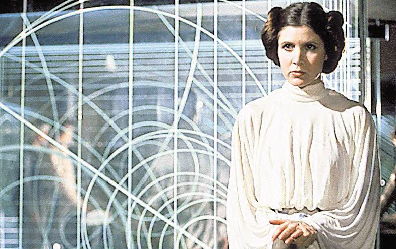 muere Carrie Fisher, princesa de La guerra de las galaxias