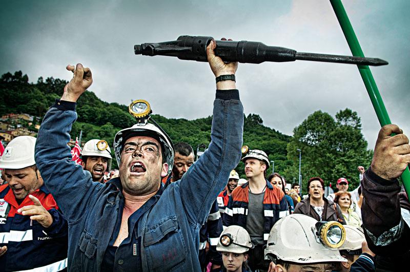 actualidad, mineros, extincion, industria carbon, xlsemanal
