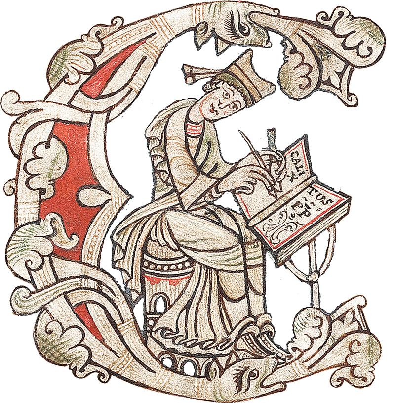 letra capital codigos medievales cultura
