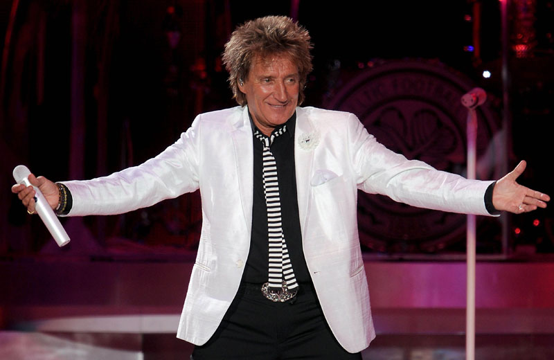 EDITORIAL USE ONLY File photo dated 19/06/13 of Rod Stewart who has been awarded a Knighthood in the Queen's Birthday Honours for services to Music and charity.