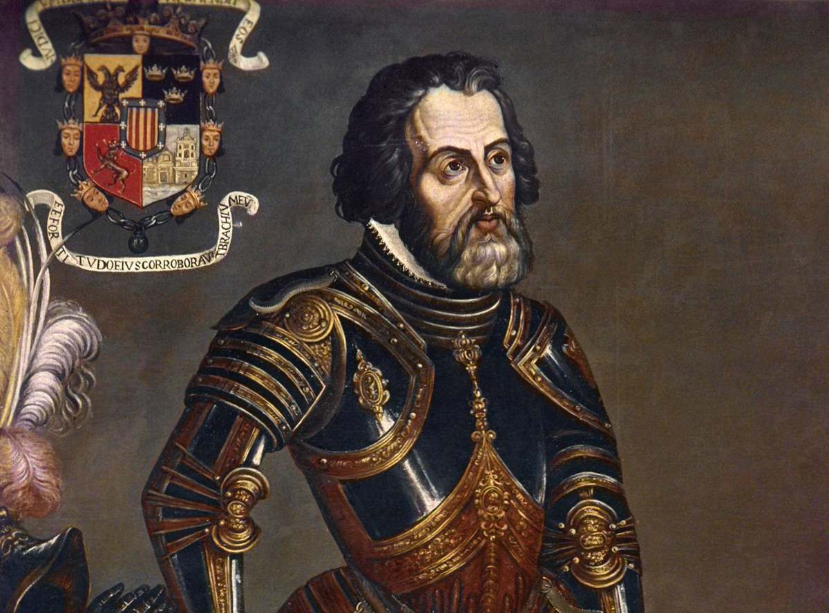 hernan cortes Hernán cortés de monroy y pizarro altamirano, marquis of the valley of oaxaca (spanish pronunciation: [erˈnaŋ korˈtes ðe monˈroj i piˈθaro] 1485 – december 2, 1547) was a spanish conquistador who led an expedition that caused the fall of the aztec empire and brought large portions of what is now mainland mexico under the rule of the.