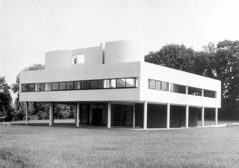 Villa Saboye Le Corbusier