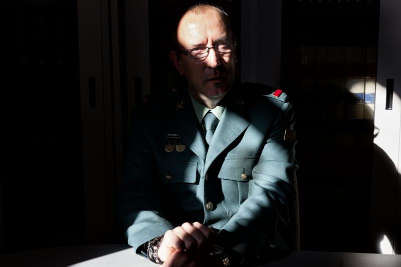 Reyes Benítez, investigador del caso del violador Antonio García Carbonell