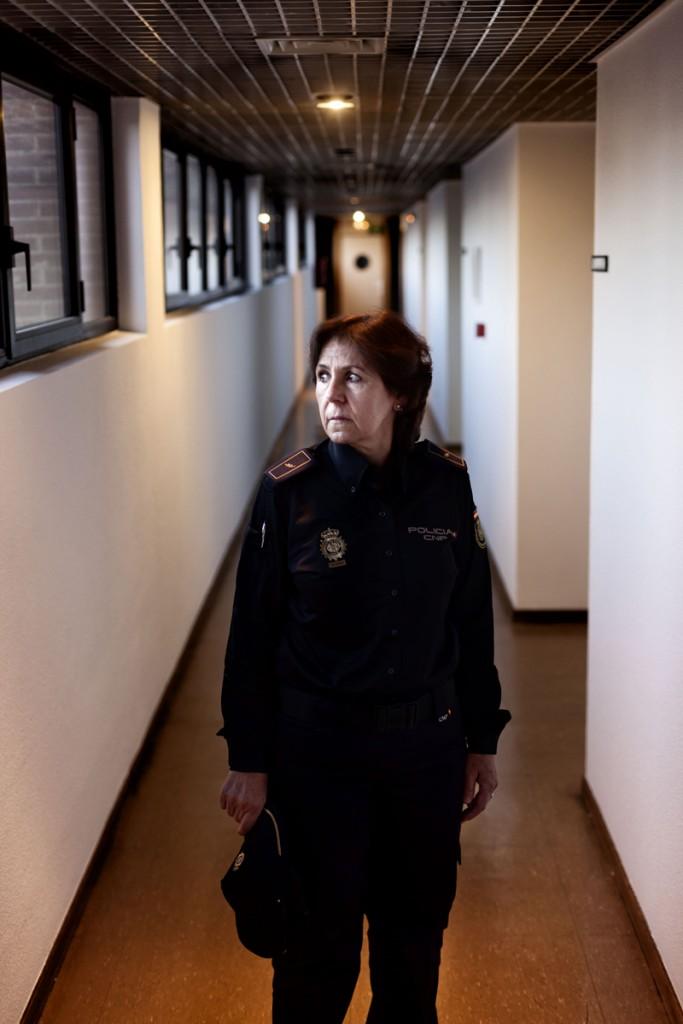 Mariluz Carro Pereira, investigadora de EL CASO DEL 'VIOLADOR DEL PORTAL' que supuso la detención de Pablo García Ribado y Antonio Barroso Mingo