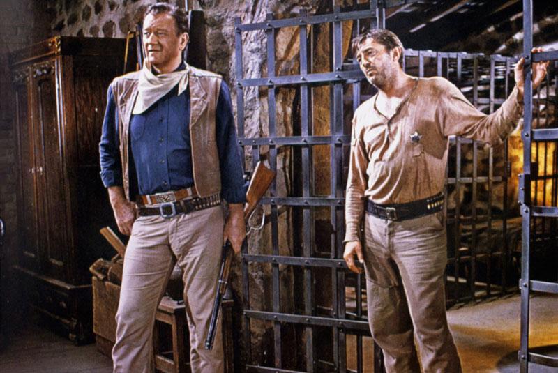 EL DORADO, John Wayne, Robert Mitchum, 1966