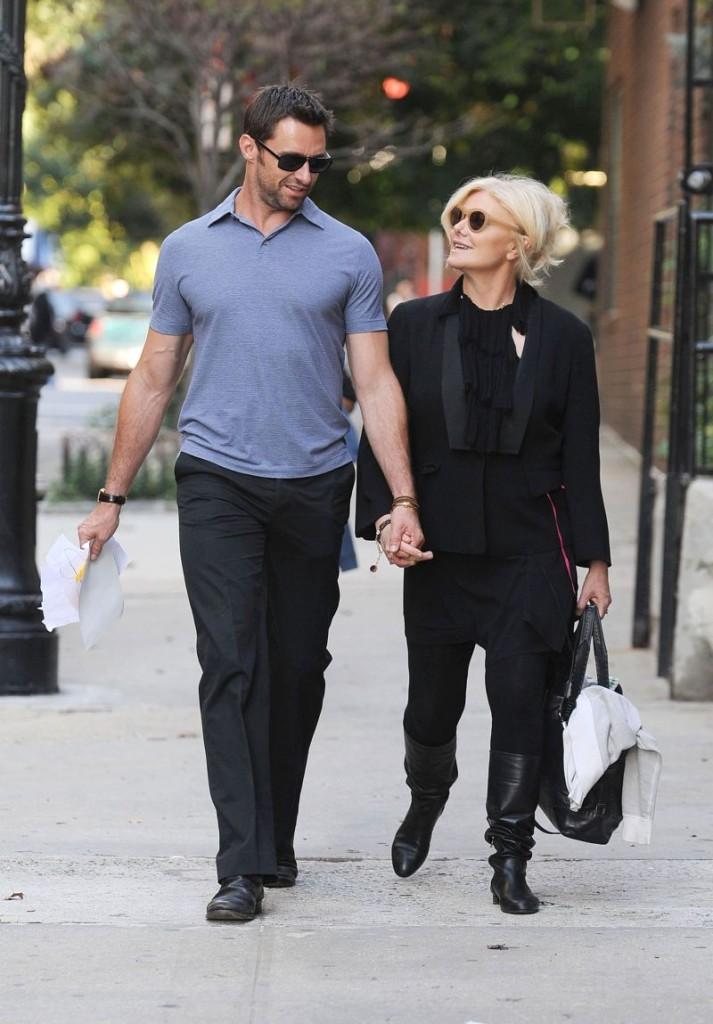 Hugh Jackman y su esposa Deb