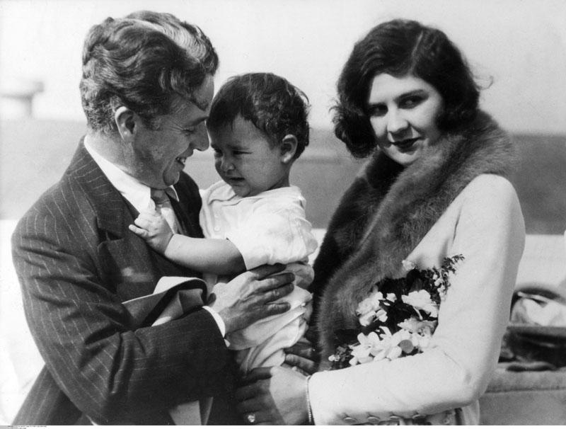 Charles Chaplin y Lita Grey