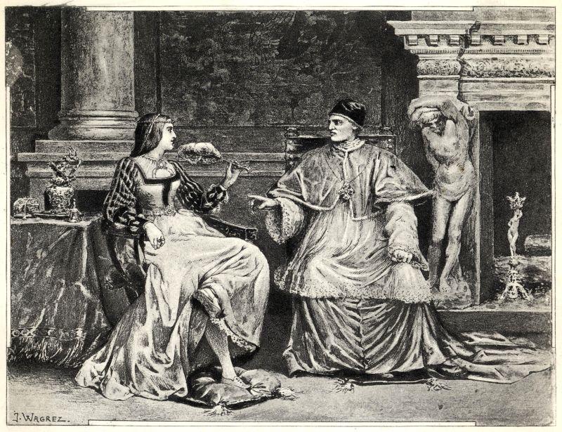 Conocer, historia, Lucrecia Borgia y el papa Alejandro VI
