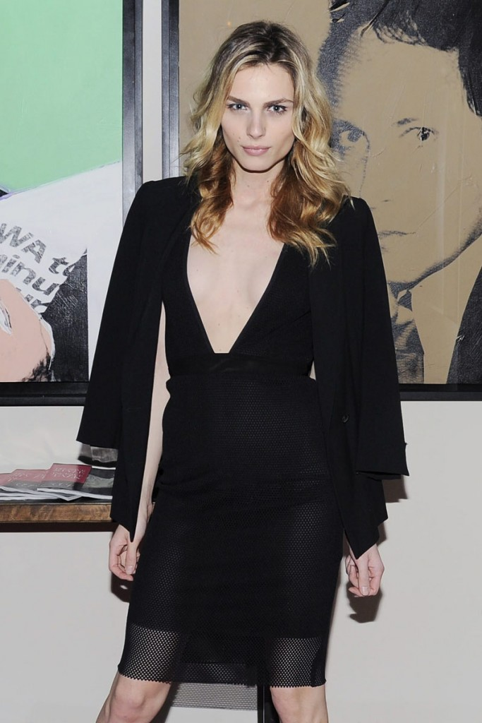 Andreja Pejic - February 18, 2015 - The Cut and New York Magazine's Fashion Week Party held at Gramercy Park Hotel - Gramercy Terrace, NYC. (Photo by Nicholas Hunt/Patrick McMullan) *** Please Use Credit from Credit Field *** *** Local Caption *** 14854612