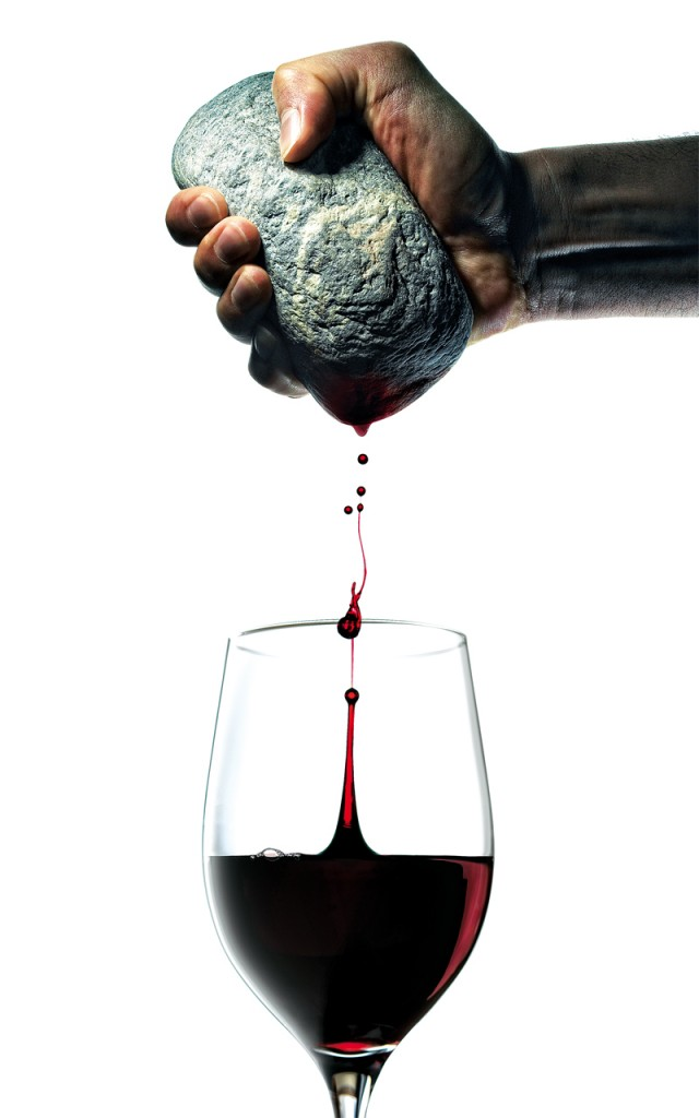 mineralidad vino ilustracion gourmet