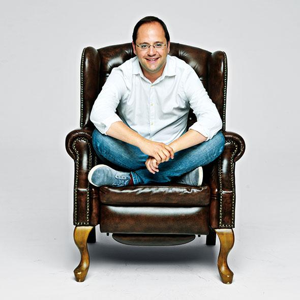 César Luena. Foto: Daniel Méndez