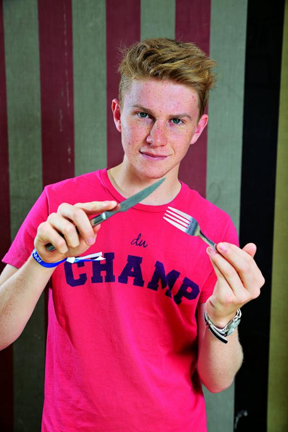 El joven chef Flynn McGarry