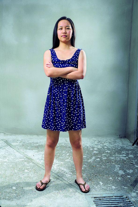 La joven emprendedora Tiffany Zhong