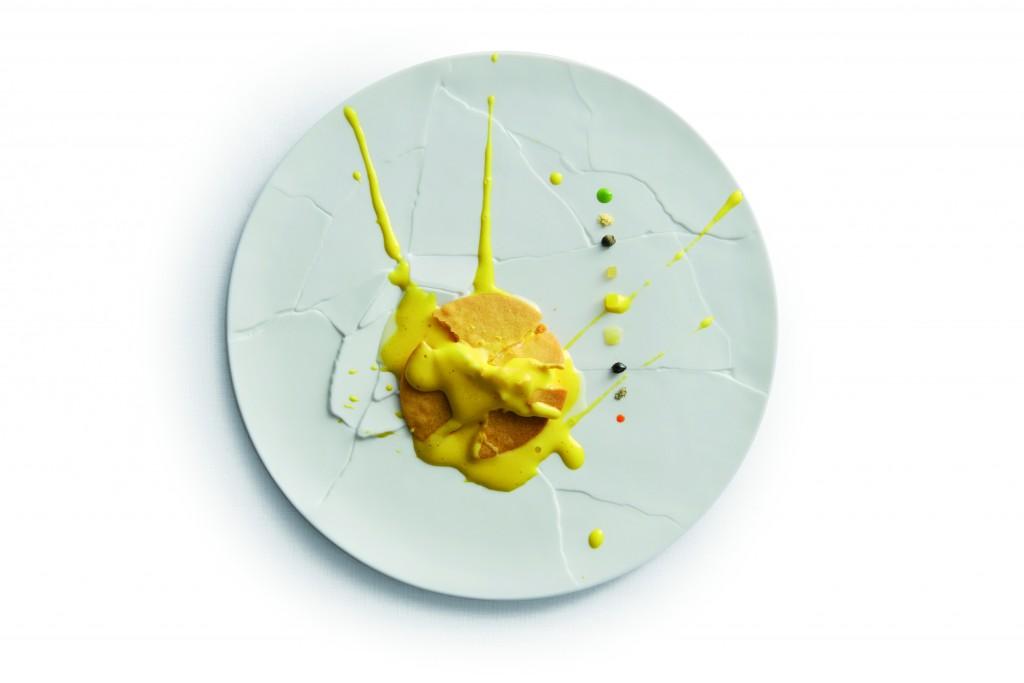 Uno de sus platos estrella: Oops! I dropped the lemon tart (¡Uy! Se me ha caído la tarta de limón)