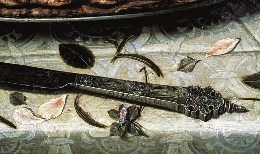 clara-peters-firma cuchillo-museo del prado
