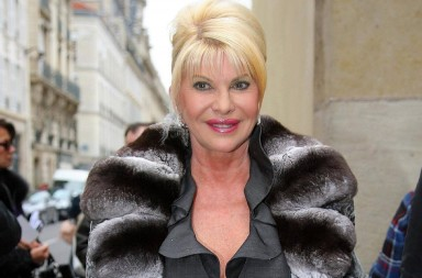 ©BAUER-GRIFFIN.COM Celebs arrive at the Rodin Museum for the Christian Dior fashion show as part of Paris Fashion Week 2009.  Picture Shows: Ivana Trump NON-EXCLUSIVE     January 26, 2009 Job: 51543EX     Paris, France www.bauergriffin.com www.bauergriffinonline.com