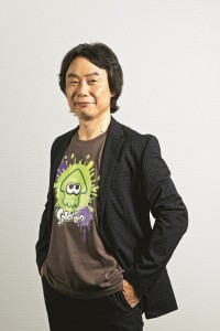 KYOTO, JAPAN - JULY 25: Portrait of Japanese video games designer and producer Shigeru Miyamoto, photographed at Nintendo headquarters in Kyoto, Japan, on July 25, 2014. Miyamoto is best known as the creator of game franchises such as Super Mario and The Legend Of Zelda. (Photo by Will Ireland/Edge Magazine via Getty Images)