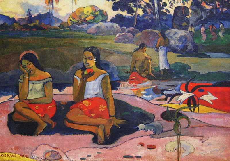 Paul Gauguin, xlsemanal