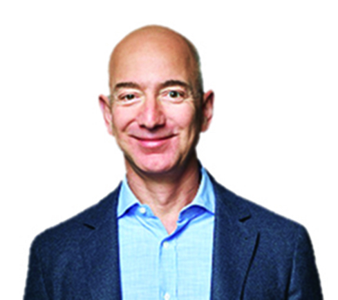 WASHINGTON, DC - MAY 18: Jeff Bezos, CEO of Amazon and owner of the Washington Post Company was one of the speakers on the panel at the Washington Post Live event. The Washington Post via Getty Images hosts Transformers in Washington, D.C. on May 18, 2016. (Photo by Marvin Joseph/The Washington Post via Getty Images)