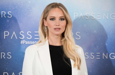 Jennifer Lawrence attends the 'Passengers' movie photocall in Madrid on Nov 30, 2016 (Photo by Gabriel Maseda/NurPhoto) *** Please Use Credit from Credit Field *** *** Local Caption *** 19003204
