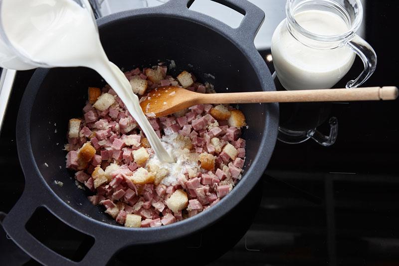 sopa al queso con jamón, martín berasategui, receta, xlsemanal