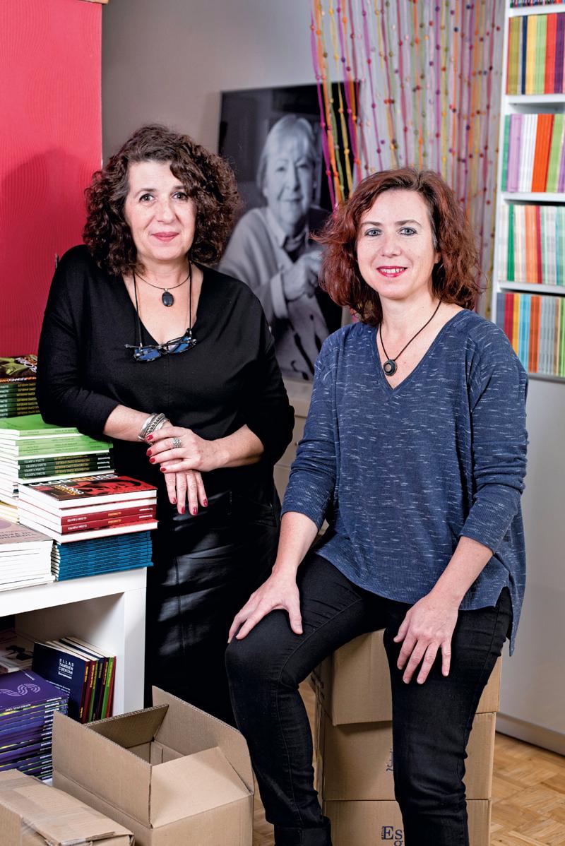 Paloma y Marta Porpetta
