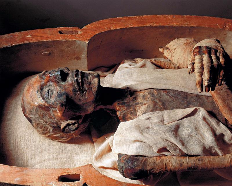 restos arqueológicos, ramses II, egipto, xlsemanal
