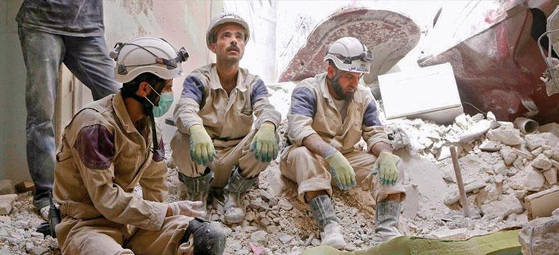 cascos blancos, voluntarios, guerra de Siria, xlsemanal (1)