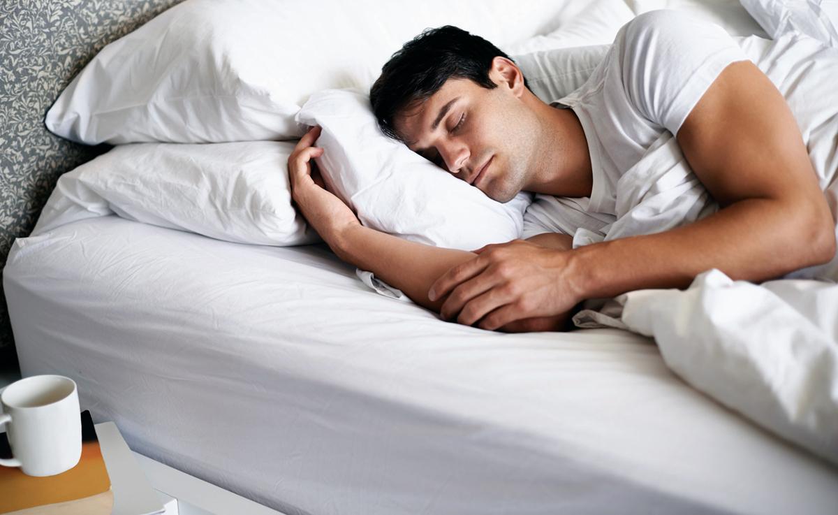 открытки спящий мужчина тем