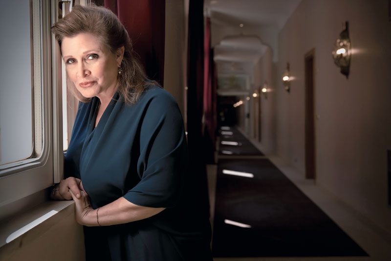 personajes, carrie fisher, actriz, harrison ford, xlsemanal (7)