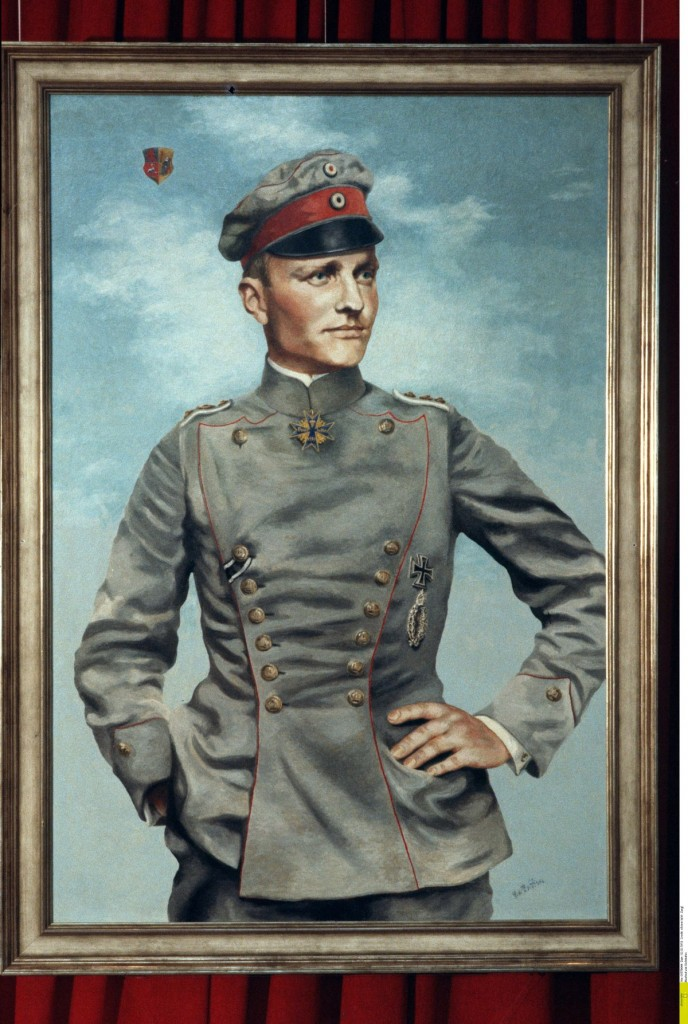 Conocer, historia, Baron rojo Manfred von Richthofen
