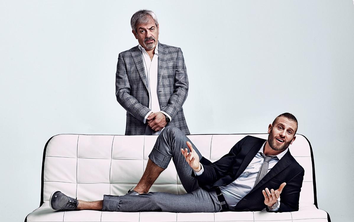Personajes, Carlos Sobera y Matías Roure, cita perfecta, First Dates, Cuatro, entrevista, xlsemanal (2)