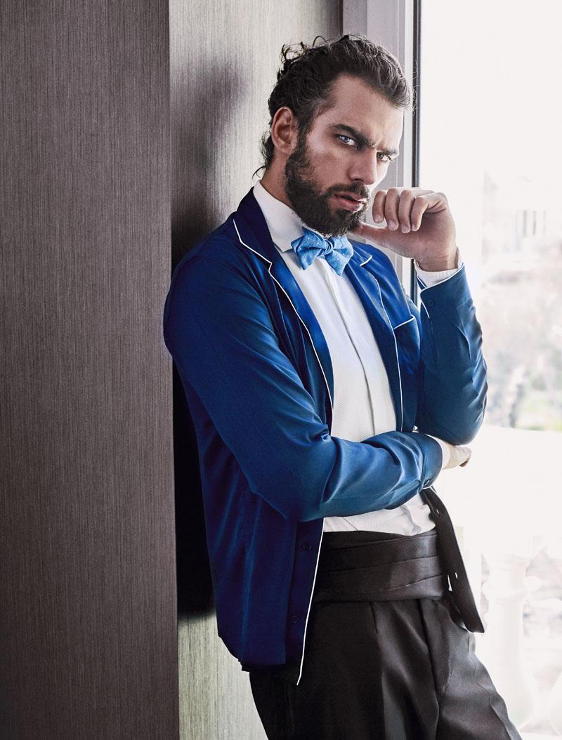 estilo, moda hombre, un dandi en casa, xlsemanal
