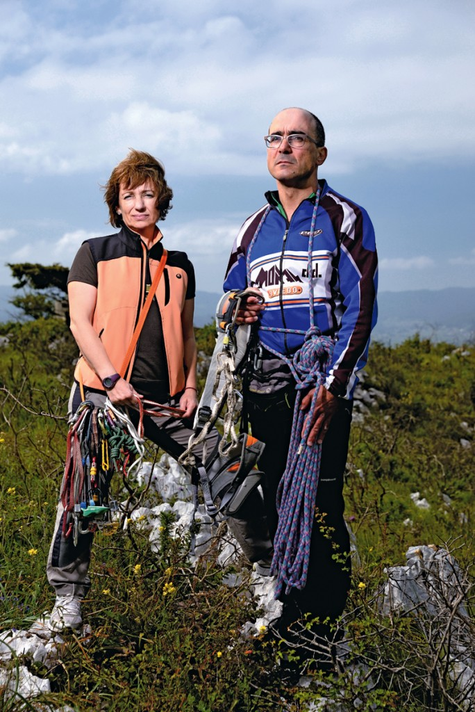 Raquel-suárez-y-Eduardo-Astudillo-conocer-aventura-montañeros.