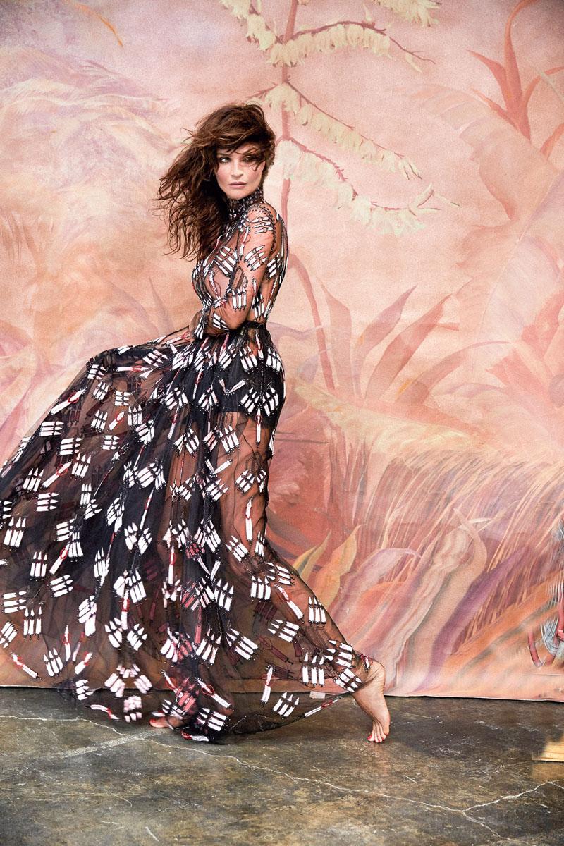 estilo, moda, Helena Christensen, modelo, Versace, 48 años, xlsemanal