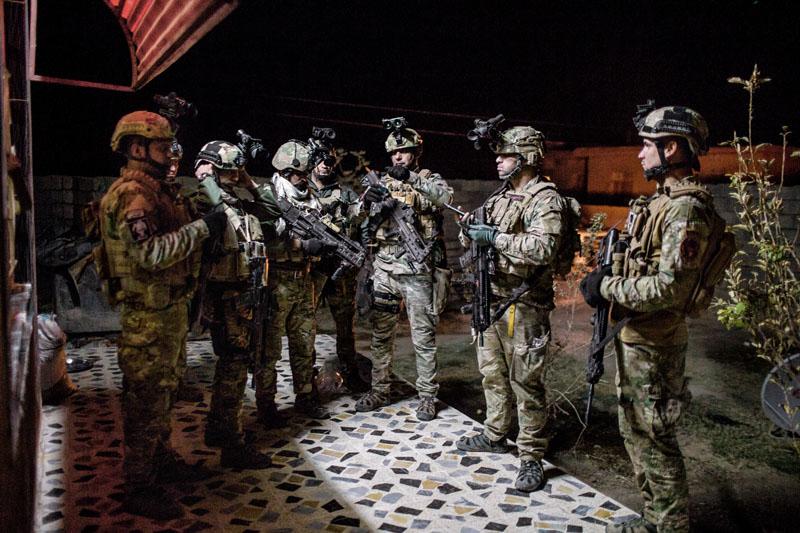 fuerzas especiales iraquies contra estado islamico, violaciones y torturas, xlsemanal