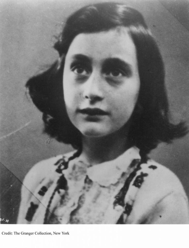 ANNE FRANK (1929-1945). German-Jewish diarist.
