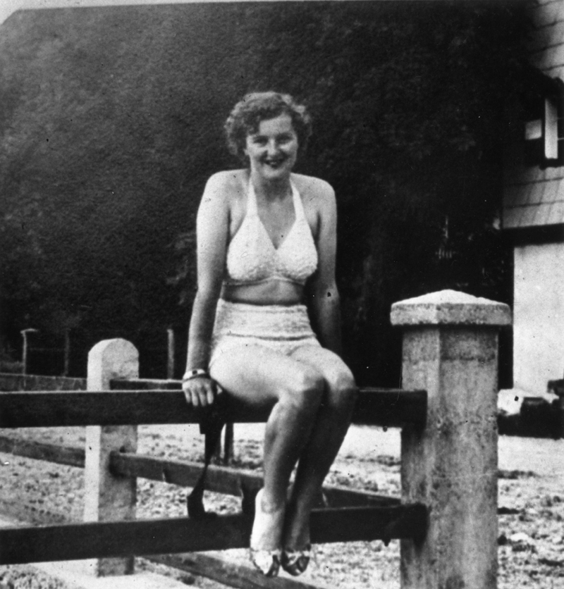 circa 1940: Eva Braun (1910 - 1945) mistress of Adolf Hitler and later his presumed wife. (Photo by Keystone/Getty Images)
