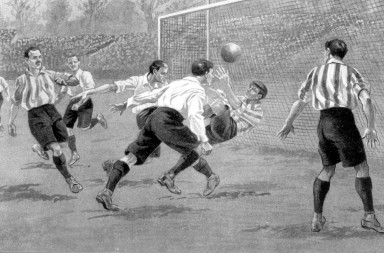 1902 - Sheffield United v Southampton at Crystal Palace.