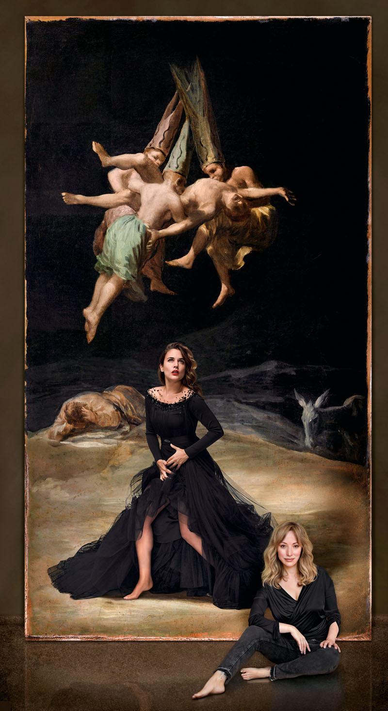 las brujas del siglo xxi de denise de la rue con macarena gomez, adriana ugarte, barbara lennie y veronica echegui, xlsemanal (1)