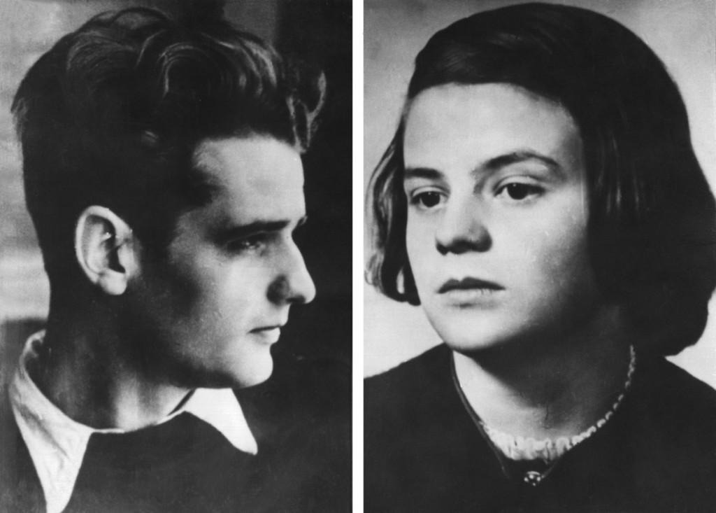 La Rosa Blanca, hermanos Sophiw Scholl y Hans Scholl, nazismo, resistencia
