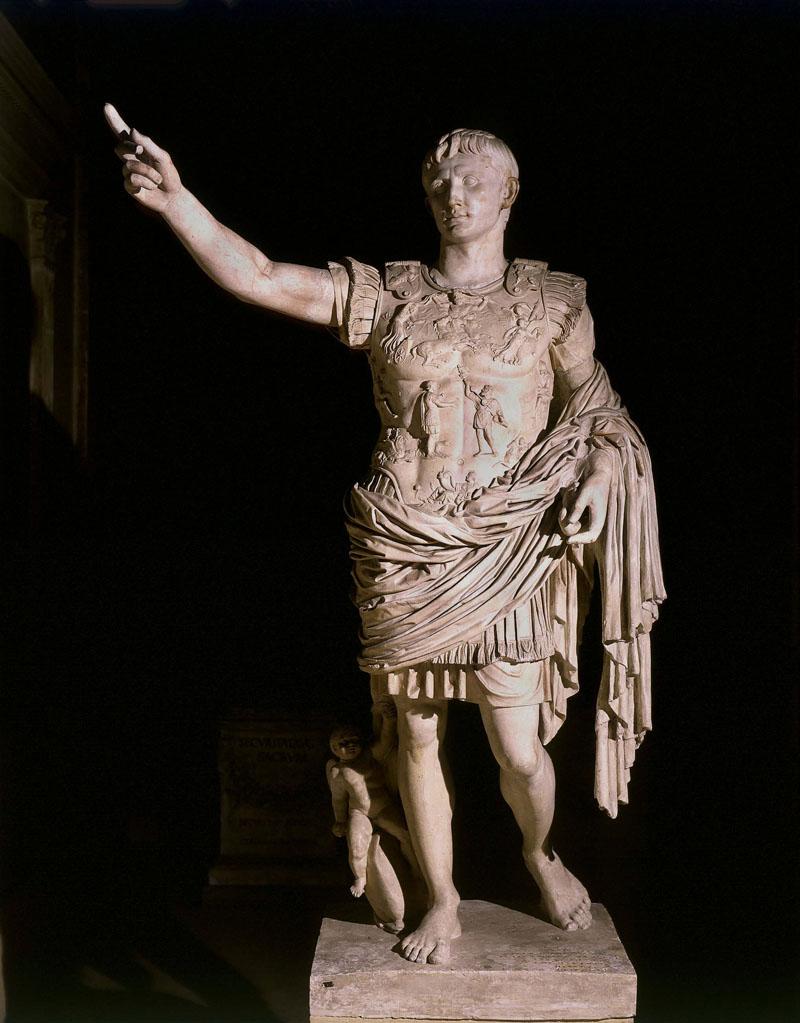 Estatua de Augusto de Prima Porta.