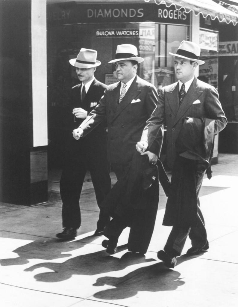 Edgar Hoover, Clyde Tolson FBI
