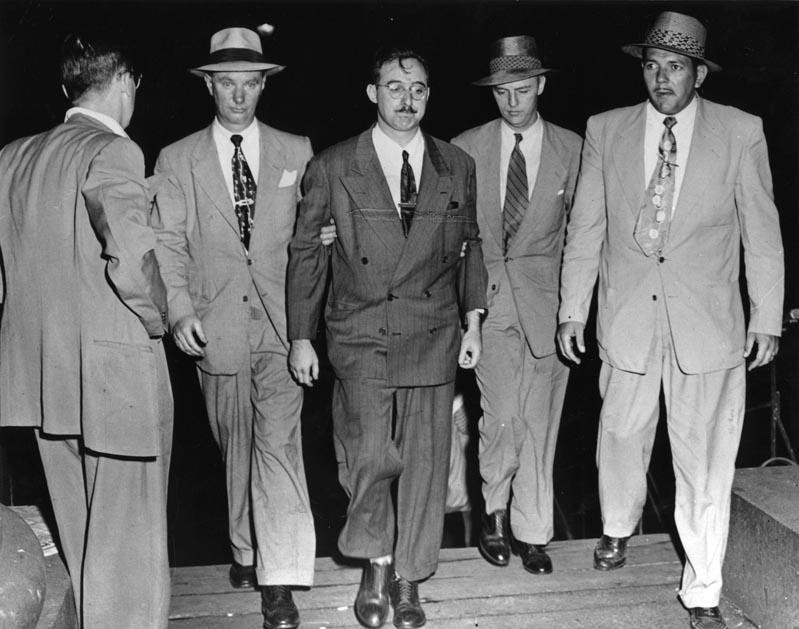 Julius Rosenberg FBI detencion