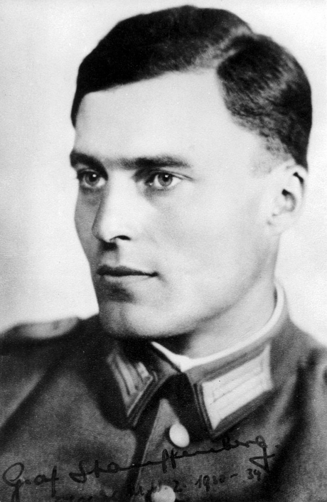 Claus Philipp Maria Justinian Schenk Graf von Stauffenberg (15 November 1907 ¿ 21 July 1944) was a German army officer and Catholic aristocrat who was one of the leading members of the failed 20 July plot of 1944 to kill Adolf Hitler and remove the Nazi Party from power in World War II Germany. Along with Henning von Tresckow and Hans Oster, he was one of the central figures of the German Resistance movement within the Wehrmacht. For his involvement in the movement he was shot shortly after the failed attempt known as Operation Valkyrie.
