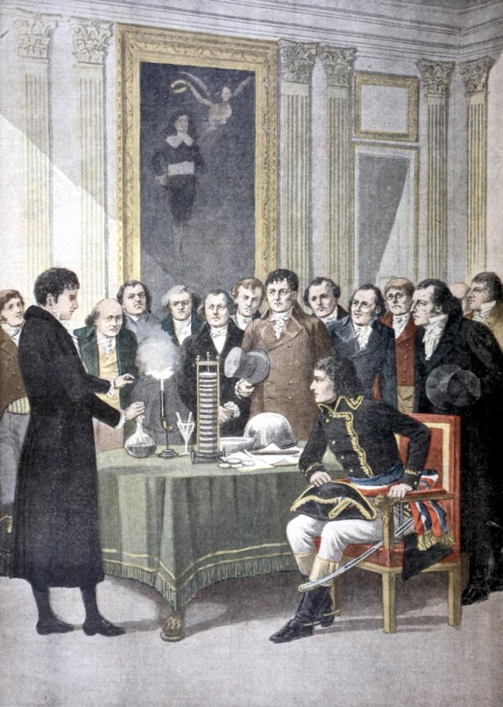 Royal Society Alessandro Volta conocer, ciencia