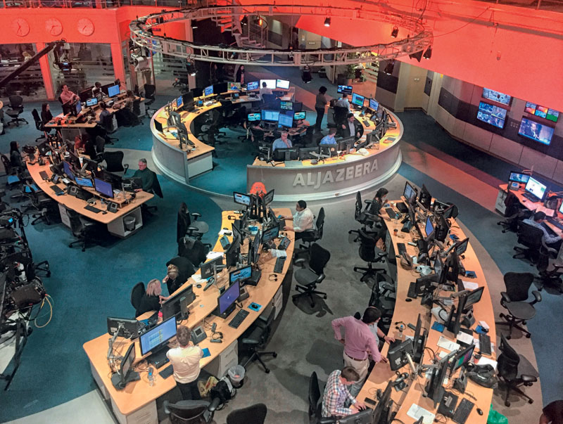 actualidad, al jazeera, television, catar, acoso cierre, oriente medio, xlsemanal