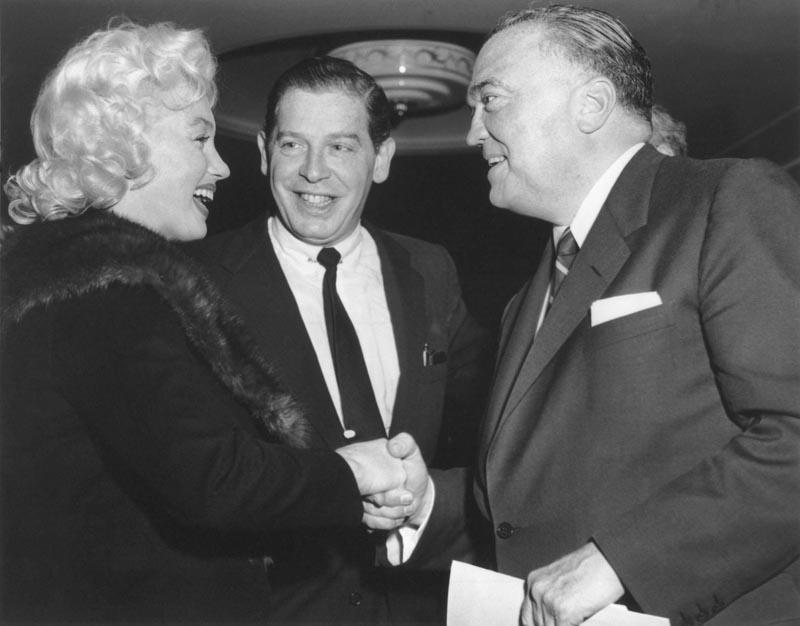 Egar Hoover FBI Marilyn Monroe