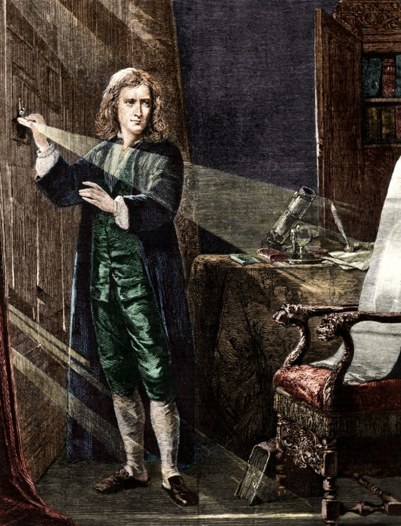 Isaac Newton ciencia, Royal Society